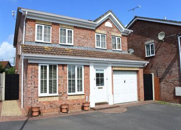 Thumbnail 4 bedroom detached house for sale in Sorrel Way, Gillingham