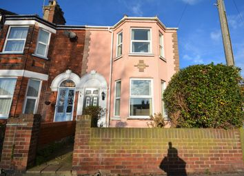 Thumbnail 4 bedroom end terrace house for sale in Church Road, Lowestoft