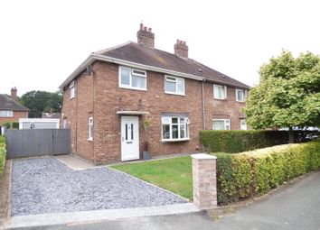Thumbnail 3 bed semi-detached house for sale in Elm Close, Crewe