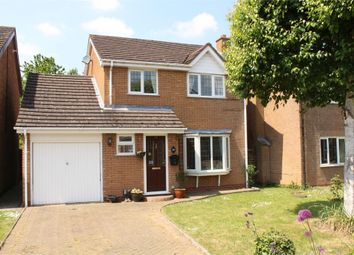 Thumbnail 3 bed detached house for sale in Mulberry Close, Lutterworth