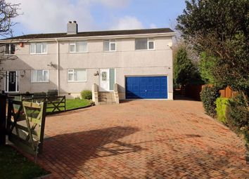 Thumbnail 5 bed semi-detached house for sale in Grantley Gardens, Mannamead, Plymouth