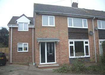 Thumbnail 4 bed semi-detached house for sale in Tarran Avenue, Hull