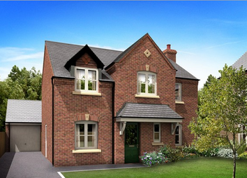 Thumbnail 4 bed detached house for sale in The Staunton, Two Gates, Tamworth