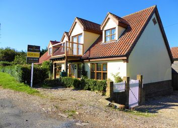 Thumbnail 4 bed detached house for sale in The Lane, Salters Lode, Downham Market