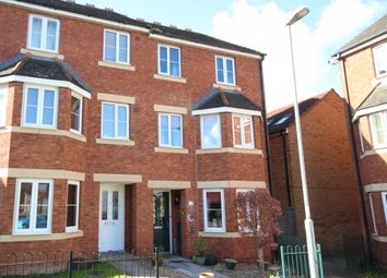 Thumbnail 4 bed town house for sale in Four Acre Meadow, Bridgwater