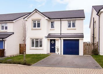 Thumbnail 4 bed detached house for sale in Rowan Walk, East Calder, Livingston