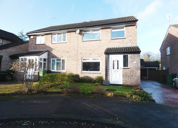 Thumbnail 3 bed semi-detached house for sale in Duncombe Close, Bramhall, Stockport