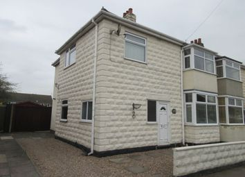 Thumbnail 3 bed semi-detached house for sale in Central Avenue, Syston