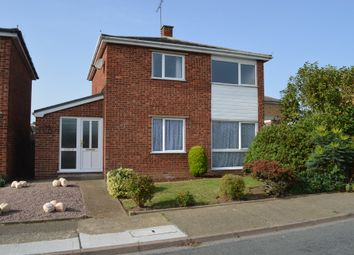 Thumbnail 3 bed detached house for sale in Western Avenue, Old Felixstowe, Felixstowe