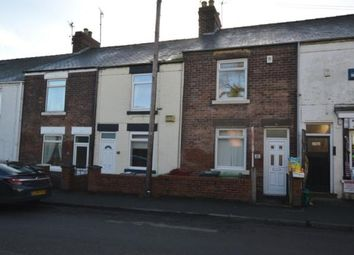 Thumbnail 2 bed terraced house for sale in Top Road, Calow, Chesterfield, Derbyshire