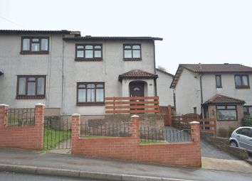 Thumbnail 3 bed semi-detached house to rent in Cader Idris Close, Risca, Newport