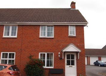 Thumbnail 2 bed property to rent in Cranes Close, Taunton