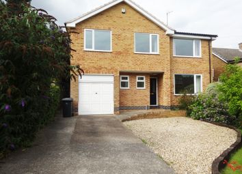 Thumbnail 4 bed detached house to rent in Linwood Crescent, Ravenshead, Nottingham