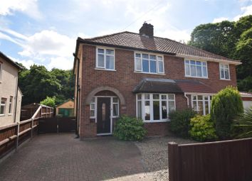 Thumbnail 3 bed semi-detached house for sale in South Hill Road, Thorpe St. Andrew, Norwich
