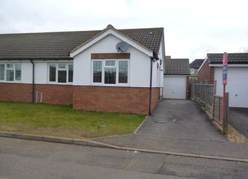 Thumbnail 2 bed bungalow to rent in Osborn Close, Wellingborough