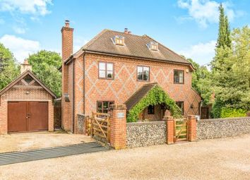 Thumbnail 5 bed detached house for sale in Minstead, Lyndhurst, Hampshire