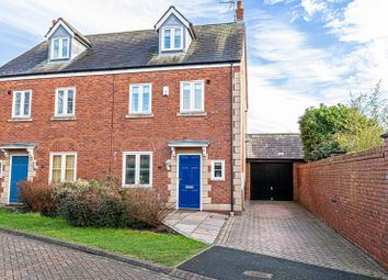 Thumbnail 4 bed semi-detached house for sale in Anvil Close, Elton, Chester