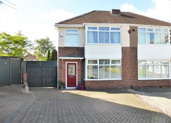 Thumbnail 3 bed semi-detached house for sale in Swanbourne Place, Sheffield