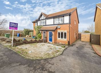 Thumbnail 2 bed semi-detached house for sale in Courtenay Drive, Chafford Hundred