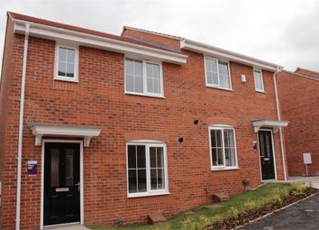 Thumbnail 3 bed semi-detached house to rent in Palace Gardens, Clipstone Village, Mansfield, Nottinghamshire