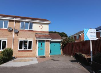 Thumbnail 2 bed semi-detached house for sale in Oaktree Way, Cannington, Bridgwater