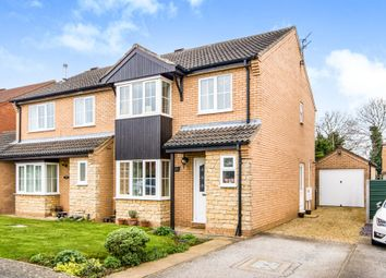 Thumbnail 3 bed semi-detached house for sale in Covill Close, Great Gonerby, Grantham