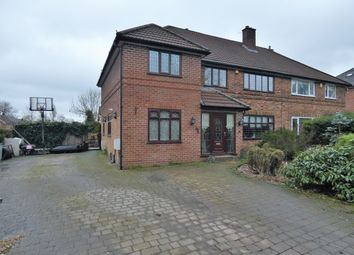 Thumbnail 5 bed semi-detached house for sale in Hob Hey Lane, Culcheth, Warrington