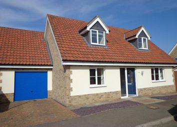 Thumbnail 3 bed detached house to rent in Fleet Close, Littleport