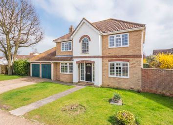 Thumbnail 4 bed detached house for sale in Bramble Way, Leavenheath, Colchester