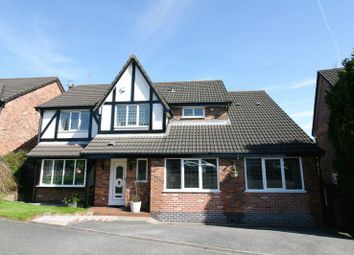 Thumbnail 4 bed detached house for sale in Falconwood Chase, Worsley, Manchester