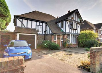 Thumbnail 4 bed detached house for sale in Charmandean Road, Broadwater, Worthing, West Sussex