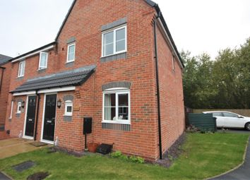 Thumbnail 3 bed semi-detached house for sale in Howden Close, Bagworth, Coalville
