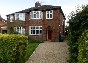 Thumbnail 3 bedroom semi-detached house to rent in Alwyne Drive, York