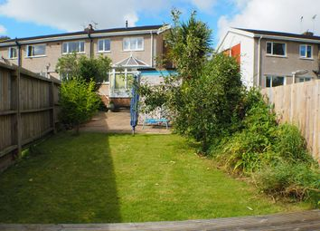 Thumbnail 3 bed flat to rent in Dolgoy Close, West Cross, Swansea