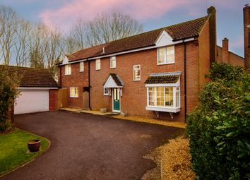 Thumbnail 5 bed detached house for sale in Hardys Field, Kingsclere