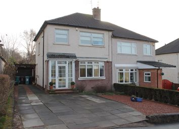 Thumbnail 3 bed semi-detached house for sale in Ardgowan Drive, Uddingston, Glasgow
