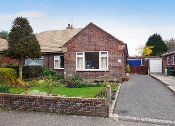 Thumbnail 3 bed semi-detached bungalow for sale in Hillview Crescent, East Preston, Littlehampton