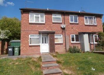 Thumbnail 1 bed end terrace house for sale in Rangeworthy Close, Redditch