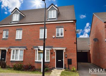 Thumbnail 4 bed semi-detached house to rent in Sandpit Drive, Leicester