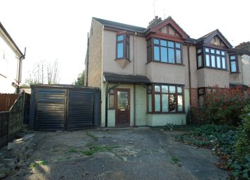 Thumbnail 3 bedroom semi-detached house for sale in Osborne Road, Hornchurch