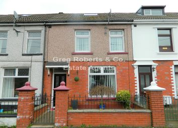 Thumbnail 3 bed terraced house for sale in Brompton Place, Tredegar, Blaenau Gwent.