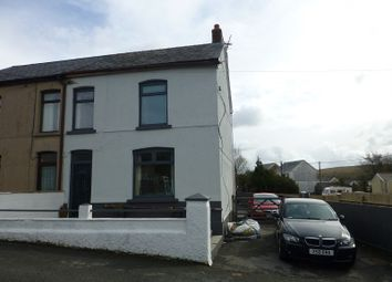Thumbnail 3 bed semi-detached house for sale in Ardwyn Road, Upper Brynamman, Ammanford, Carmarthenshire.