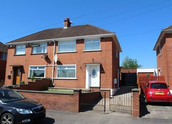 Thumbnail 3 bed terraced house to rent in Cherryhill Road, Dundonald, Belfast