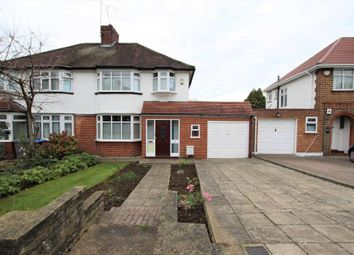 Thumbnail 3 bed semi-detached house for sale in Uxendon Hill, Barn Hill Area