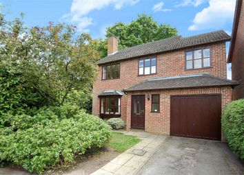 Thumbnail 4 bedroom detached house for sale in Vermont Woods, Finchampstead, Berkshire