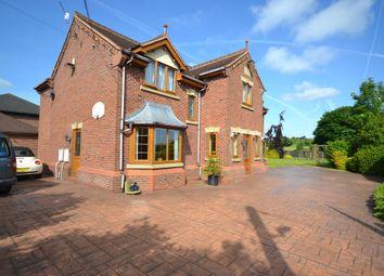 Thumbnail 5 bedroom detached house for sale in Crackley Lane, Scot Hay, Newcastle