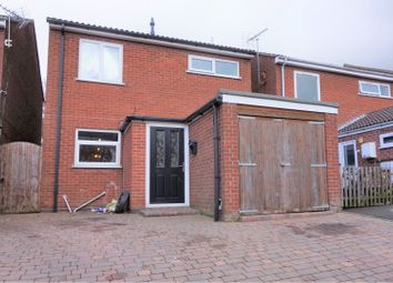 Thumbnail 3 bed detached house for sale in Stamford Drive, Coalville