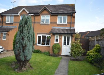 Thumbnail 3 bed semi-detached house for sale in Monal Close, Whetstone, Leicester