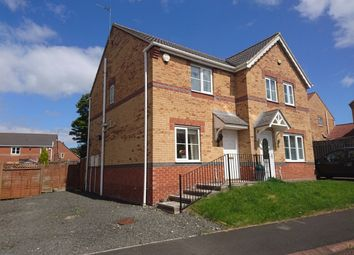 Thumbnail 2 bed semi-detached house to rent in Hainford Close, Sunderland