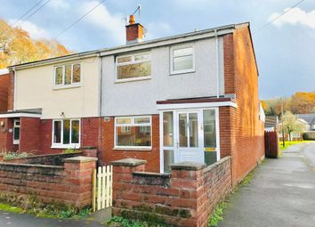 Thumbnail 3 bed semi-detached house to rent in Woodlands Avenue, Treharris